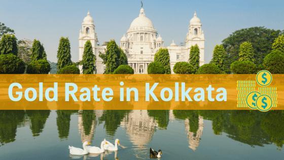 today gold rate in kolkata