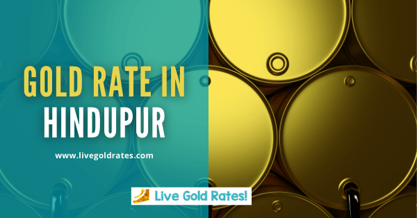 Today Gold Rate In Hindupur