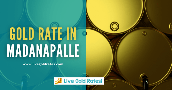 Today Gold Rate In Madanapalle