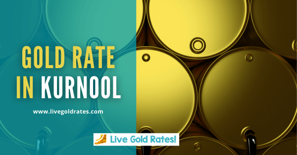Today Gold Rate In kurnool